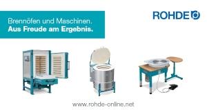 Rohde Brennöfen und Maschinen